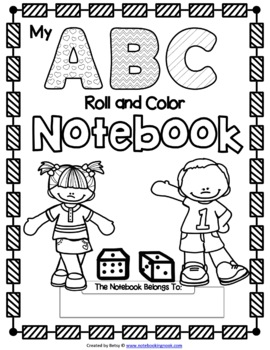 Alphabet Roll and Color