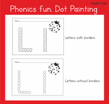 ABC'S ACTIVITY. DOT PAINTING