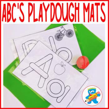 ABC'S Playdough mats