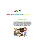 ABC'S Positive Behavior Management System
