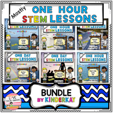 (Mostly) One Hour STEM Lessons BUNDLE For Kindergarten