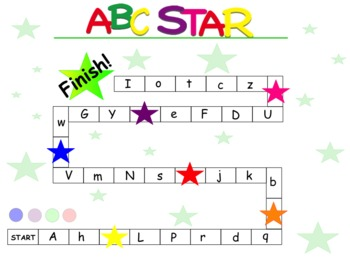 ABC STAR for Letter and Sound Recognition