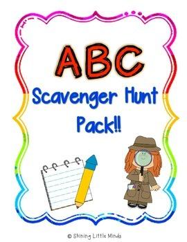 ABC Scavenger Hunt Pack