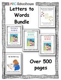 ABC Schoolhouse Letters to Words Bundle