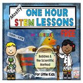 (Mostly) One Hour STEM Lessons I CAN BE A SCIENTIST For Li