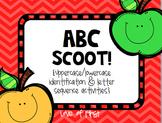 ABC Scoot! {An Alphabet Game}