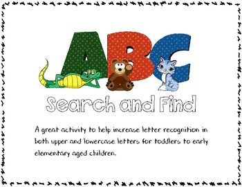 Search and Find: ABC
