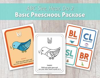 ABC See, Hear, Do 2 Basic Preschool Package