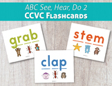 ABC See, Hear, Do 2 CCVC Flashcards