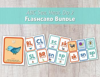 ABC See, Hear, Do 2 Flashcard Bundle