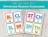 ABC See, Hear, Do 2 Uppercase Reading Flashcards