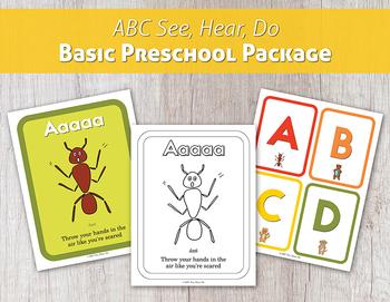 ABC See, Hear, Do Basic Preschool Package