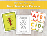 ABC See, Hear, Do Basic Preschool Package