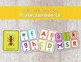ABC See, Hear, Do Flashcard Bundle