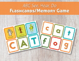 ABC See, Hear, Do Flashcards/Memory Game