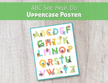 ABC See, Hear, Do Poster