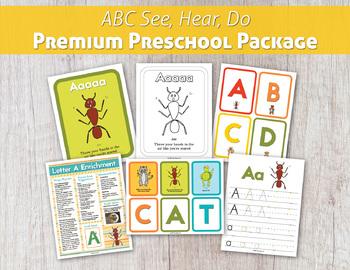 ABC See, Hear, Do Premium Preschool Package