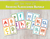 ABC See, Hear, Do Reading Flashcard Bundle