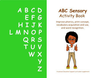 ABC Sensory Bundle (Activity Book + Flashcards)