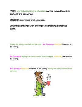 ABC Sentences: Sentence Structure and Fluency Unit and Lesson Activities