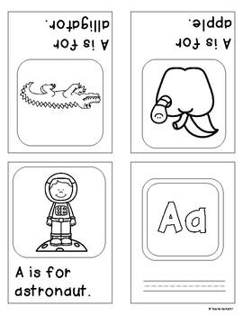 ABC Sight Word Foldable Mini Books