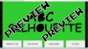 ABC Silhouette Game