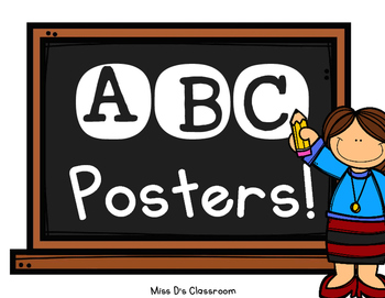 ABC Posters!