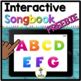 ABC Song Interactive Book - Music Distance Learning Speech