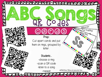 ABC Songs QR Codes