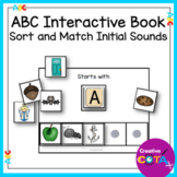 Letter Sounds ABC Sort and Match Interactive Book