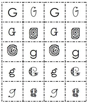 ABC Sort and Write Center Activity