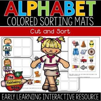 Alphabet Sorting Mats