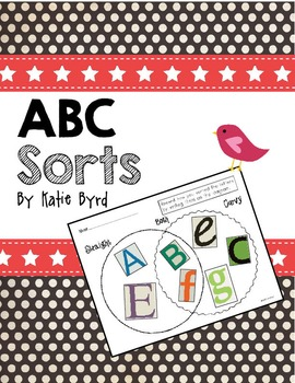ABC Sorts! Center Activities for Letter Learning