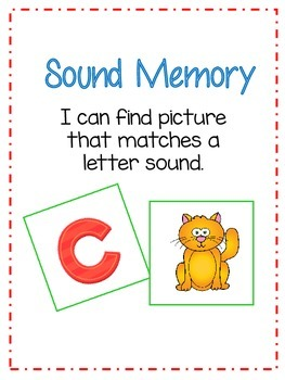 ABC Sound Memory Match