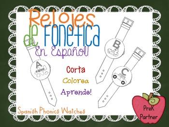 ABC: Spanish Phonic Watches