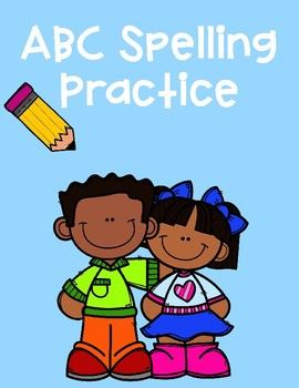 ABC Spelling Practice Worksheet