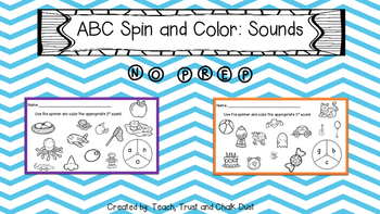 ABC Spin & Color 1st Sounds