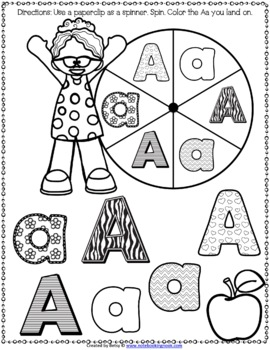 Alphabet Spin and Color