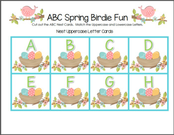ABC Spring Birdie Fun