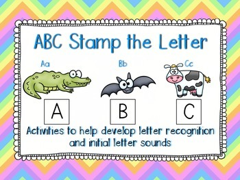 ABC Stamp the Letter Activity