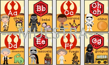 ABC Star wars espanol