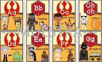 ABC Star wars espanol