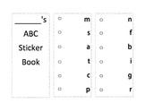 ABC Sticker Book for Kindergarten Differentiation - Journeys