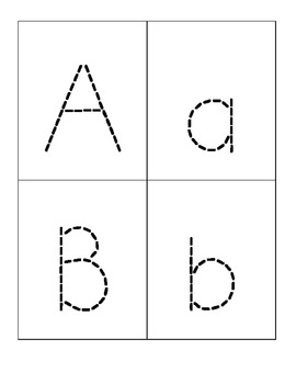 ABC Sticker Cards Set