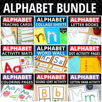 Alphabet Activities Mega Bundle | ABC Activity Set for Preschool & Kindergarten