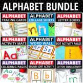 Alphabet Activities Mega Bundle | ABC Activity Set for Pre