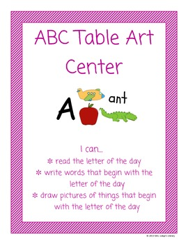 ABC Table Art Center