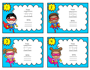 "ABC Task Cards including ""I have...Who has?"""