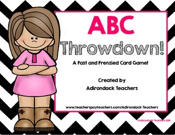 ABC Throwdown! A Fast and Frenzied Card Game