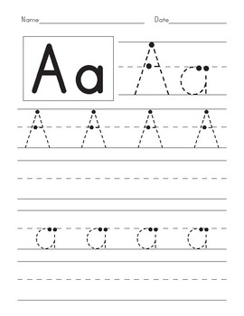 ABC Trace Upper and Lower